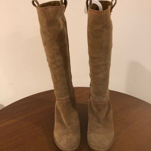 Kate Spade Under Knee High suede boots 7